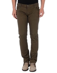Richmond Denim Casual Pants Military Green