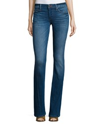 True Religion Becca Mid Rise Boot Cut Jeans Crystal Springs Bvrm Crystal Spri