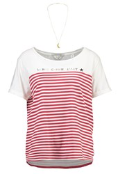 Scotch And Soda French Inspired Print Tshirt Combo White