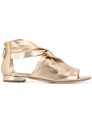 Casadei Sade Sandals Gold