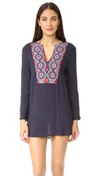Ondademar Embroidered Tunic Blue