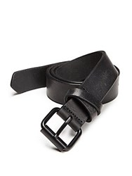 Saks Fifth Avenue Full Grained Leather Belt Brown