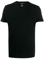 Majestic Filatures Slim Fit T Shirt Black