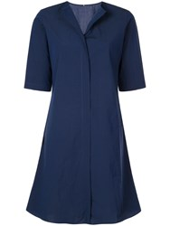 Peter Cohen Poplin Shirt Blue