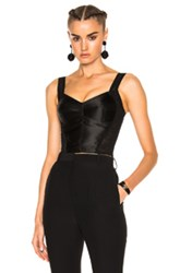 Dolce And Gabbana Bustier In Black