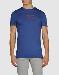 Generation Pacifique Short Sleeve T Shirts Blue