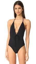 Bec And Bridge Valley Of Neptune Swimsuit Black