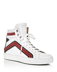 Belstaff Dillon High Top Sneakers White