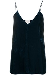 Forte Forte Flared Camisole Top Blue