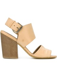 Marsa Ll Chunky Heel Sandals Nude And Neutrals