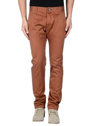 Dr. Denim Jeansmakers Trousers Casual Trousers Men Brown