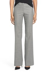 Women's Boss 'Temuna' Wool Blend Suit Trousers