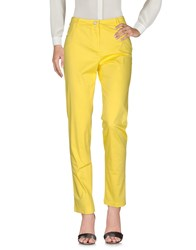 Le Fate Trousers Casual Trousers Yellow