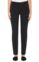 Helmut Lang Women's Canvas Creased Jeans Black