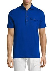 Polo Ralph Lauren Lisle Short Sleeve Cotton Tee Graphic Royal