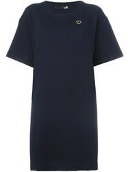Love Moschino T Shirt Dress Blue