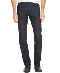 Kenneth Cole Reaction Men's Straight Leg Indigo Wash Jeans