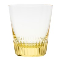 Moser Conus Double Old Fashioned Tumbler Cut Grooves Eldor