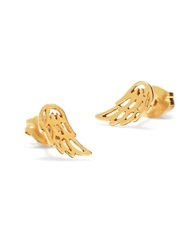 Bing Bang Little Wings 14K Yellow Gold Stud Earrings