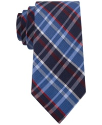 Club Room Sidewalk Plaid Slim Tie Only At Macy's