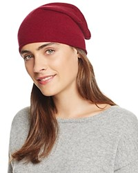 Bloomingdale's C By Bloomingdales Cashmere Angelina Slouch Hat Pinot