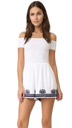 L Space Nanette Romper White