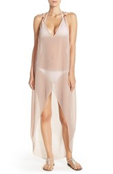 Women's Ted Baker London 'Satine' Cover Up Maxi Dress