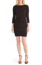 Michael Stars Women's Shirred Dolman Sleeve Dress