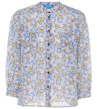 Mih Jeans Lilli Floral Printed Cotton Blouse Multicoloured