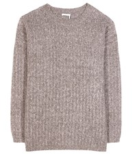 See By Chloe Mohair Blend Sweater Beige