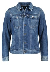 G Star Gstar 3301 Deconstructed 3D Slim Jkt Denim Jacket Tobe Denim Blue Denim