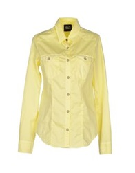 Twin Set Jeans Shirts Light Yellow