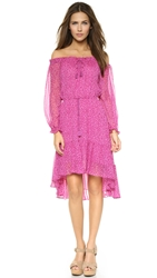 Diane Von Furstenberg Camila Dress Petal Dreams Pink