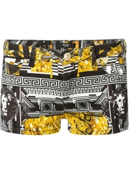Versus Graphic Lion Shorts Black