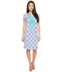 Hatley Ponte Dress Henna Floral Women's Dress Tan