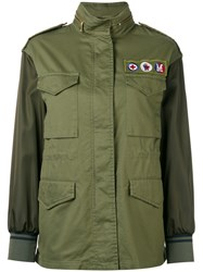 Moncler Zamia Field Jacket Green