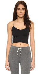Free People Skinny Strap Brami Black
