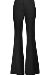 Haute Hippie Silk Blend Wide Leg Pants Black