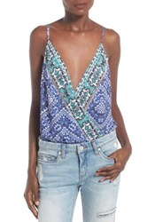 Lovers Friends Vision Camisole Bodysuit Multi