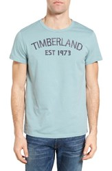 Timberland Men's Kennebec River 1973 Graphic T Shirt Stone Blue