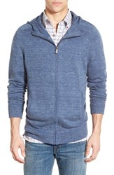 Men's Maker And Company Hooded Zip Sweater Blue