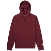 Carhartt Wip Hooded Chase Sweat Red