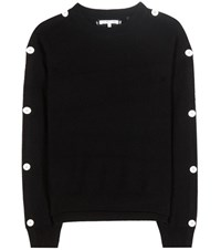 Helmut Lang Cotton And Cashmere Sweater Black