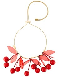 P.A.R.O.S.H. 'Cherry' Necklace Red