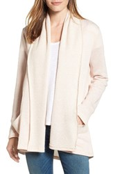 Caslonr Women's Caslon French Terry Cardigan Dusty Rose