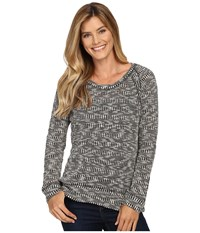 Kut From The Kloth Mallory Black Women's Long Sleeve Pullover