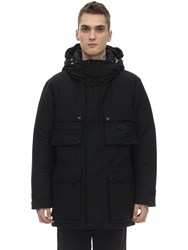 Duvetica Chort Cotton Blend Down Jacket Black