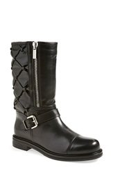 Aquatalia By Marvin K By Marvin K. 'Barbara' Weatherproof Quilted Boot Women Black Leather