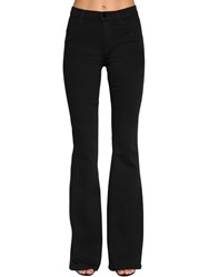 J Brand Valentina High Waist Flared Jeans Black