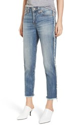 True Religion 'S Brand Jeans Colette High Waist Tapered Skinny Jeans Blue